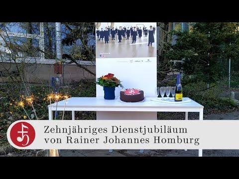 10 Jahre Rainer Homburg
