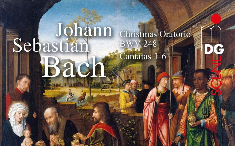 Neue CD mit den Kantaten 1-6 aus Johann Sebastian Bachs Weihnachtsoratorium BWV 248